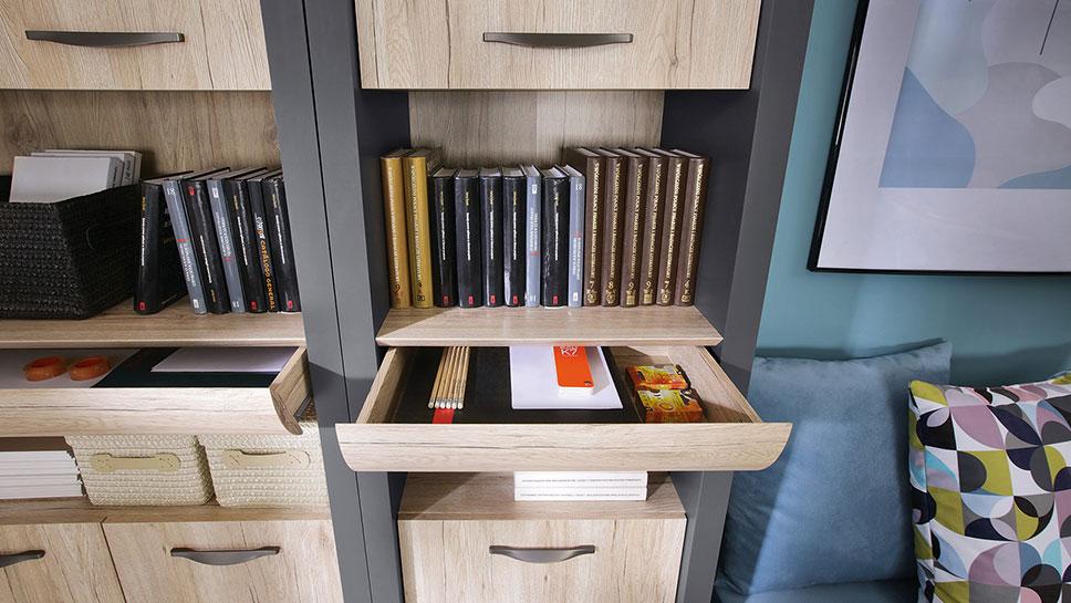 Комплект мебели для кабинета EXECUTIVE BRW
