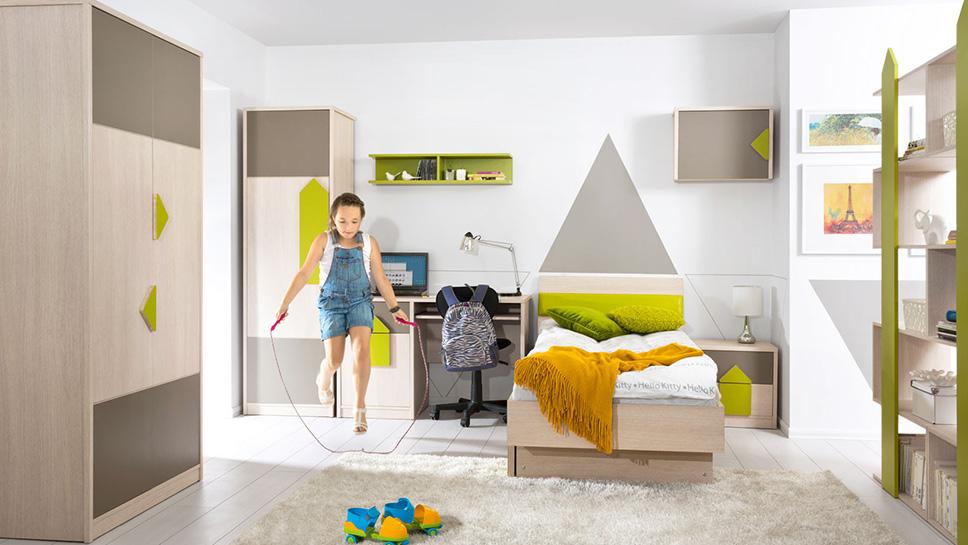 Комплект мебели для детской STRZALKA BRW